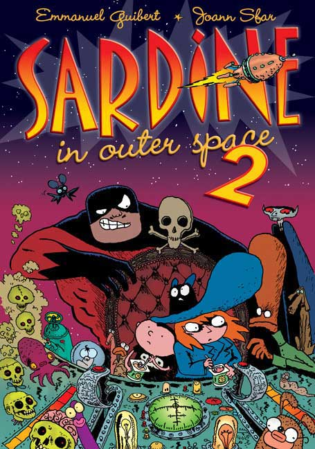 Sardine in Outer Space 2 By Guibert, Emmanuel/ Sfar, Joann (ILT)/ Watson, Sasha (TRN)
